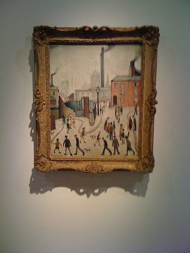 Lowry Painting at Ulster Museum | Flickr - Photo Sharing!