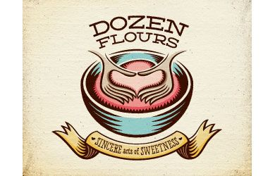 Dozen flours. Rendered really well
