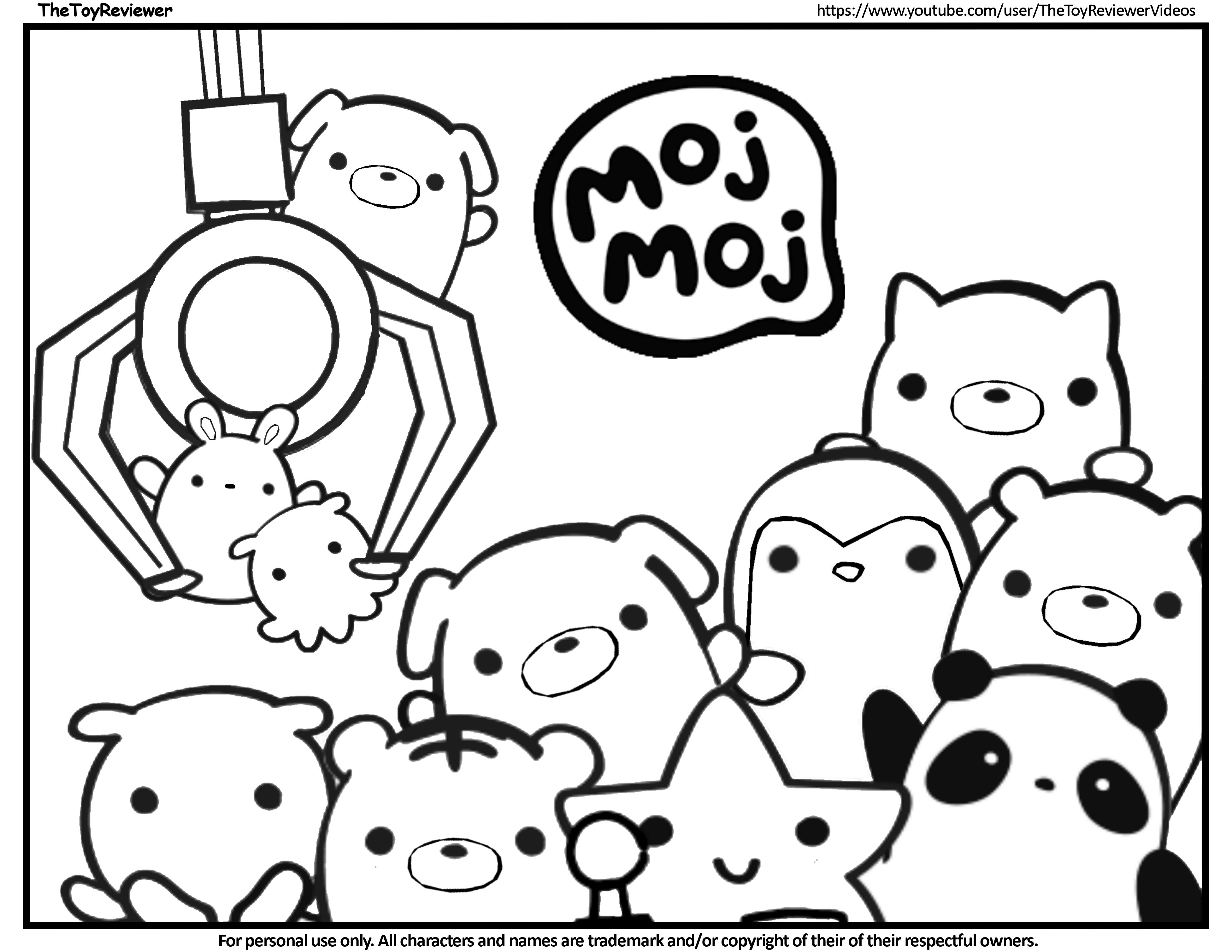 Here is the Moj Moj Coloring Page! Click the picture to