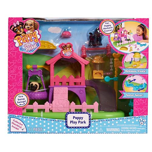 Just Play Toys : Puppy in my pocket dog park playset just play toys quot r