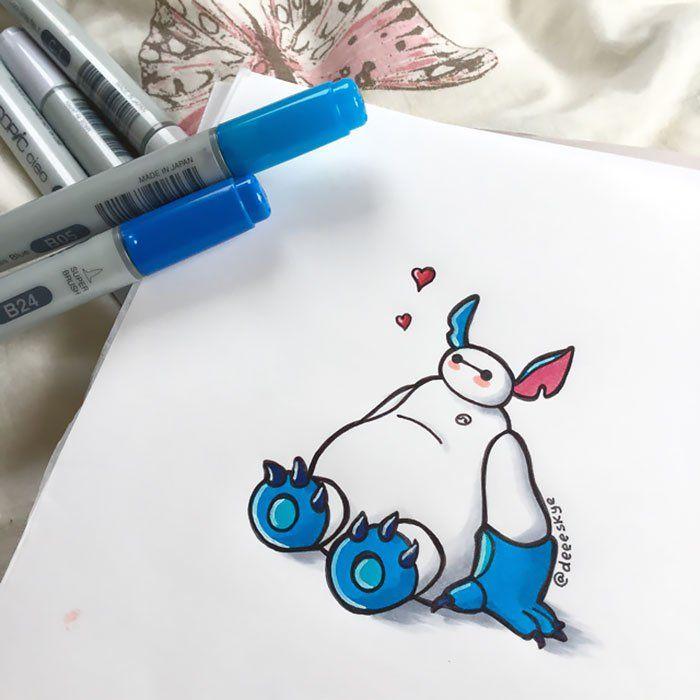 Pin de Kathy en Big Hero 6️⃣   Pinterest   Dibujo, Fotos lindas y ...