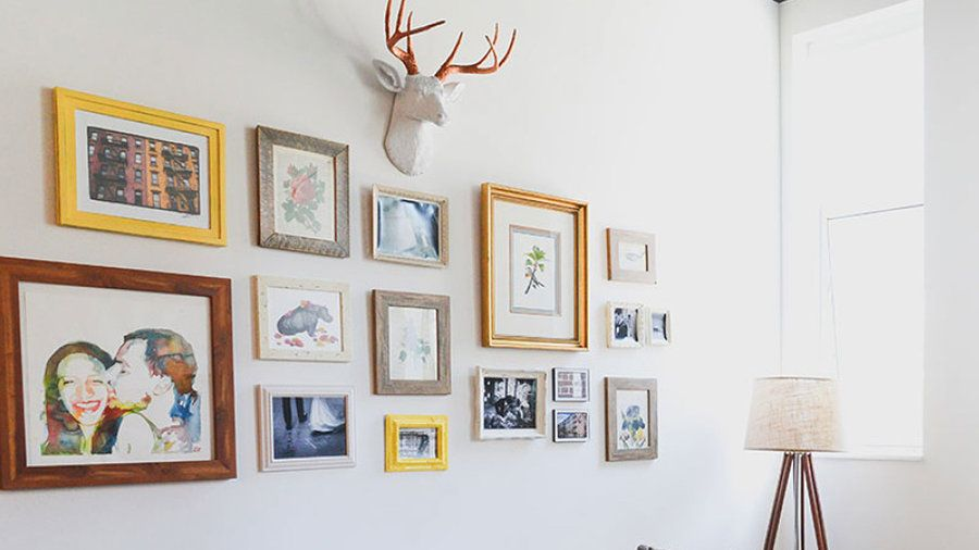 Sentimental value | Give a wall a cohesive, stylish look with these creative art displays