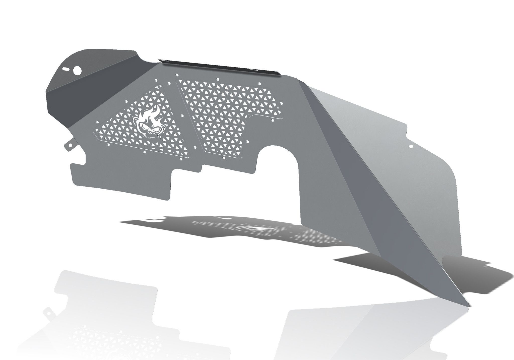 Rugged Ridge 11651.07 Rear Corner Body Armor Kit