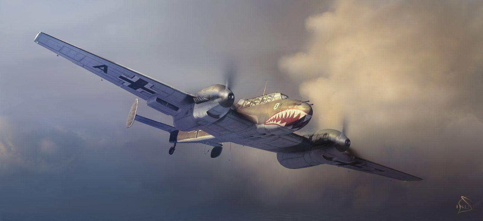 The Messerschmitt Bf 110 zerstorer. The Messerschmitt Bf ...
