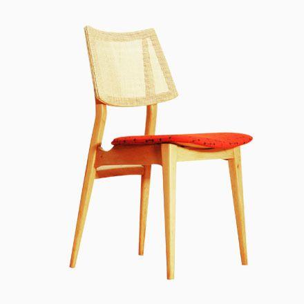 Spanische Vintage Stühle aus Buchenholz, 1960er, 2er Set Jetzt - stühle für die küche