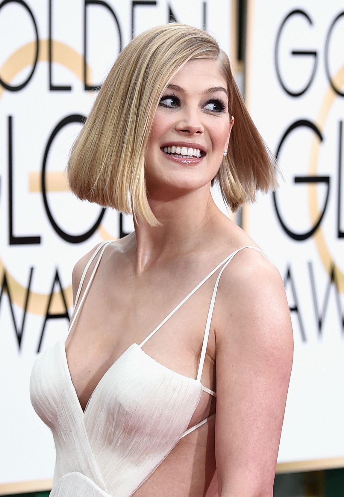 Pussy Cleavage Rosamund Pike naked photo 2017