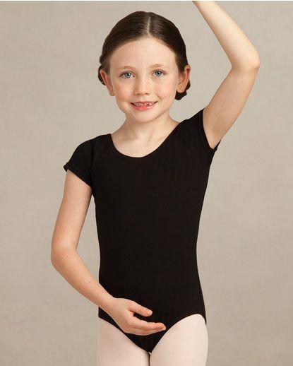 39359c0fc890 Capezio Child Short Sleeve Leotard CC400C Creative Movement- Pink Pre  Ballet- Lavender Pre Jazz/ Tap- Black