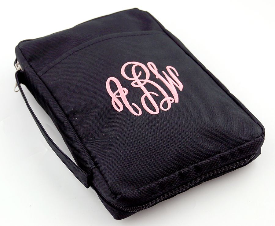 monogrammed bible cover from initial outfitters  39 personalized