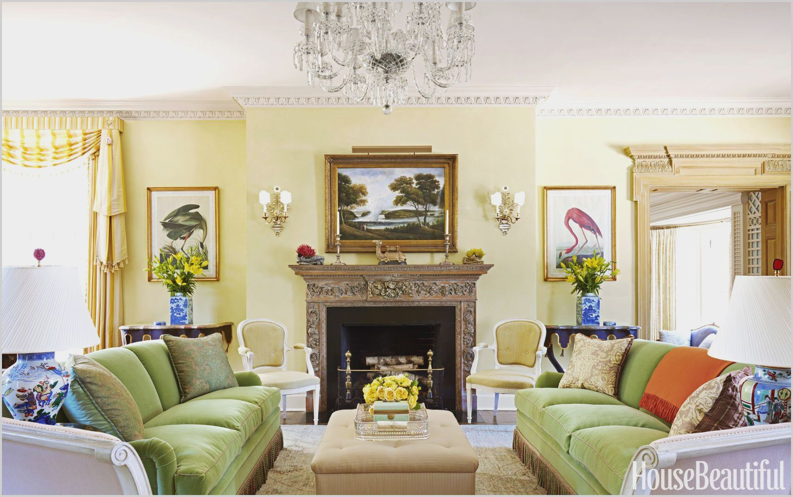 Yellow And Green Living Room Designs Living Room Pictures Living Room Paint Yellow Living Room Living room yellow green