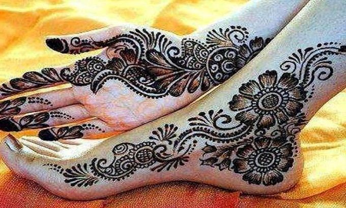 Mehndi Patterns For Arms : Mehndi designs for feet acelebritynews latest