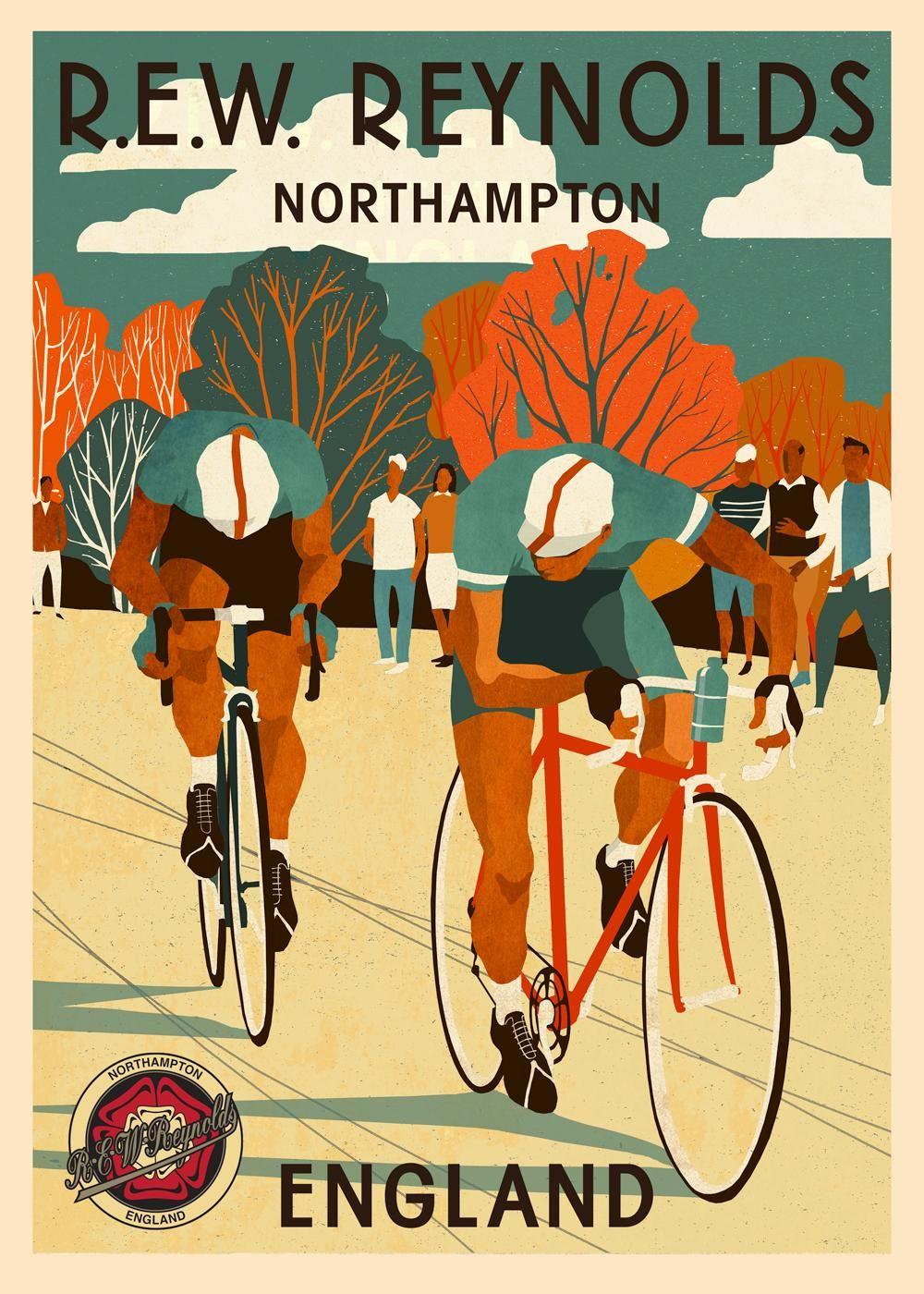 Eliza Southwood Cykler Plakater Engle