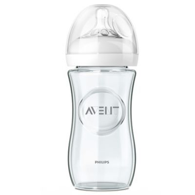 Philips Avent Natural 3 Pack 8 Oz Baby Glass Bottles Glass Baby Bottles Baby Bottles Avent Baby Bottles