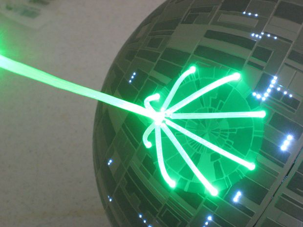 Death Star Christmas Tree Topper - Instructables - Death Star Christmas Tree Topper Death Star, Tree Toppers And