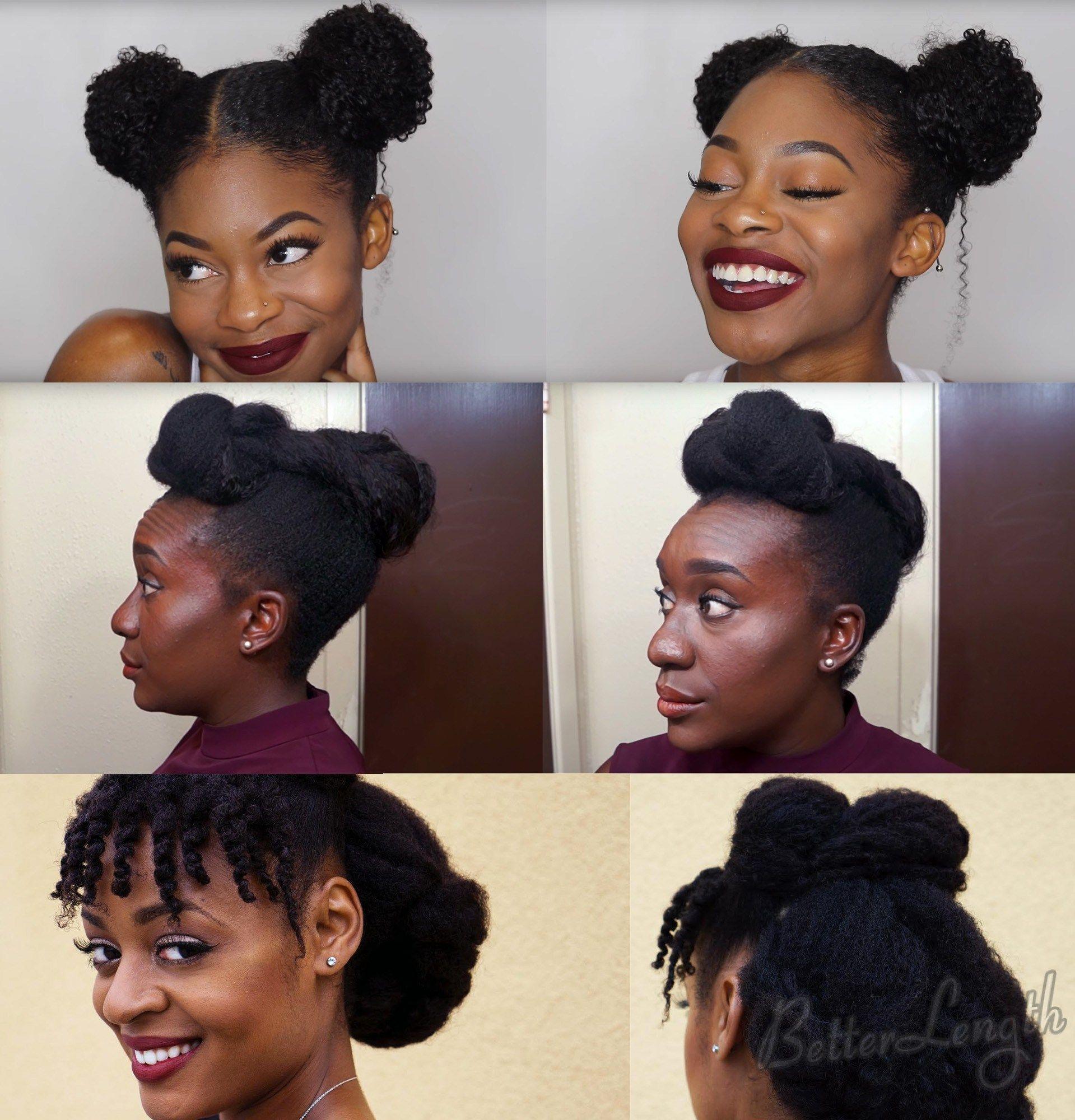 Top 6 Quick Easy Natural Hair Updos Natural Hair Updo Natural Hair Styles Medium Natural Hair Styles