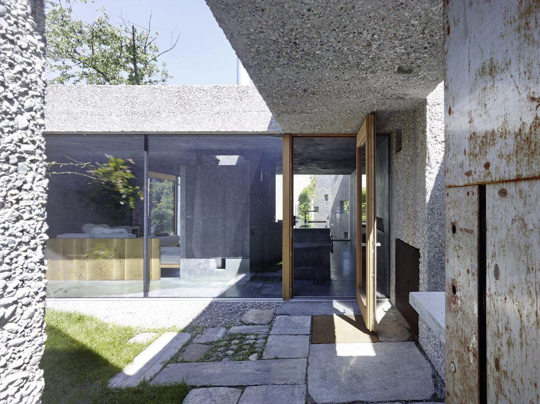 neubau haus dem. in caviano | Architecture | Pinterest | Haus ...