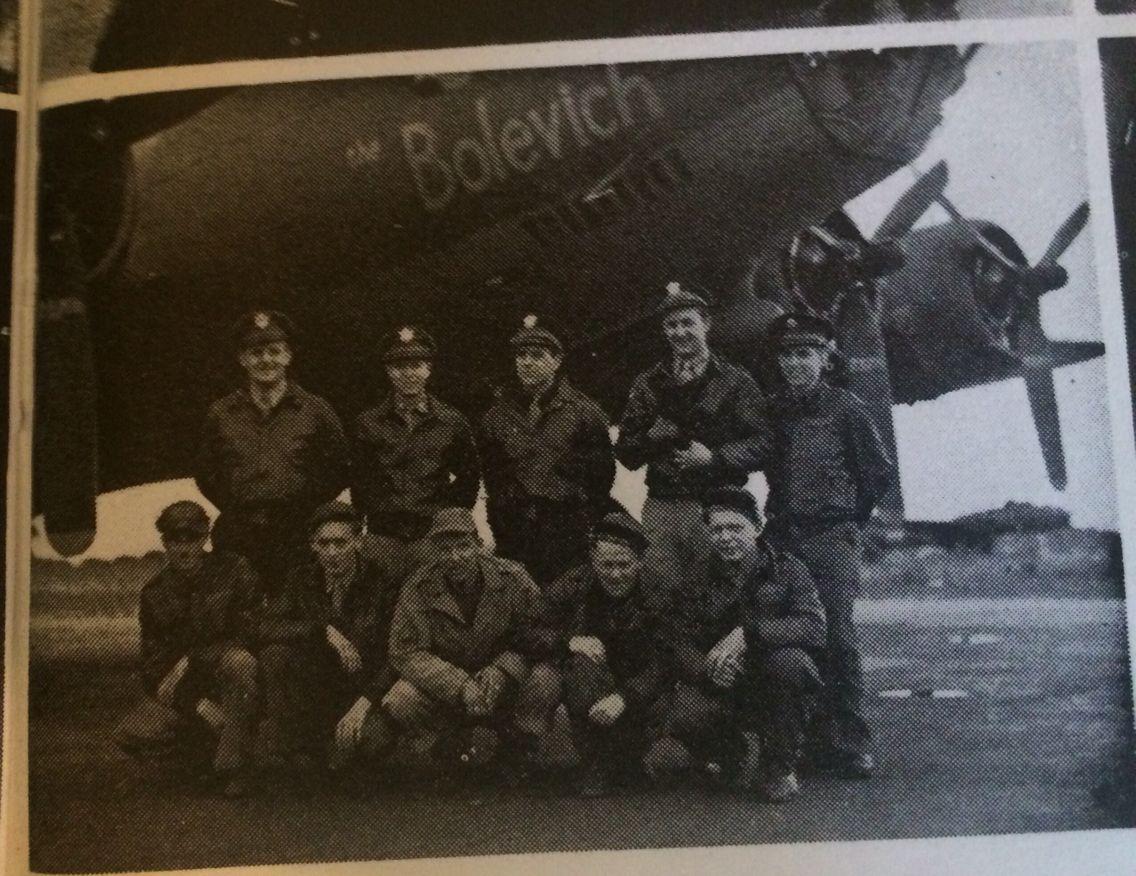 B17 379th Kimbolton. The Belovich or The Bolevich. 42