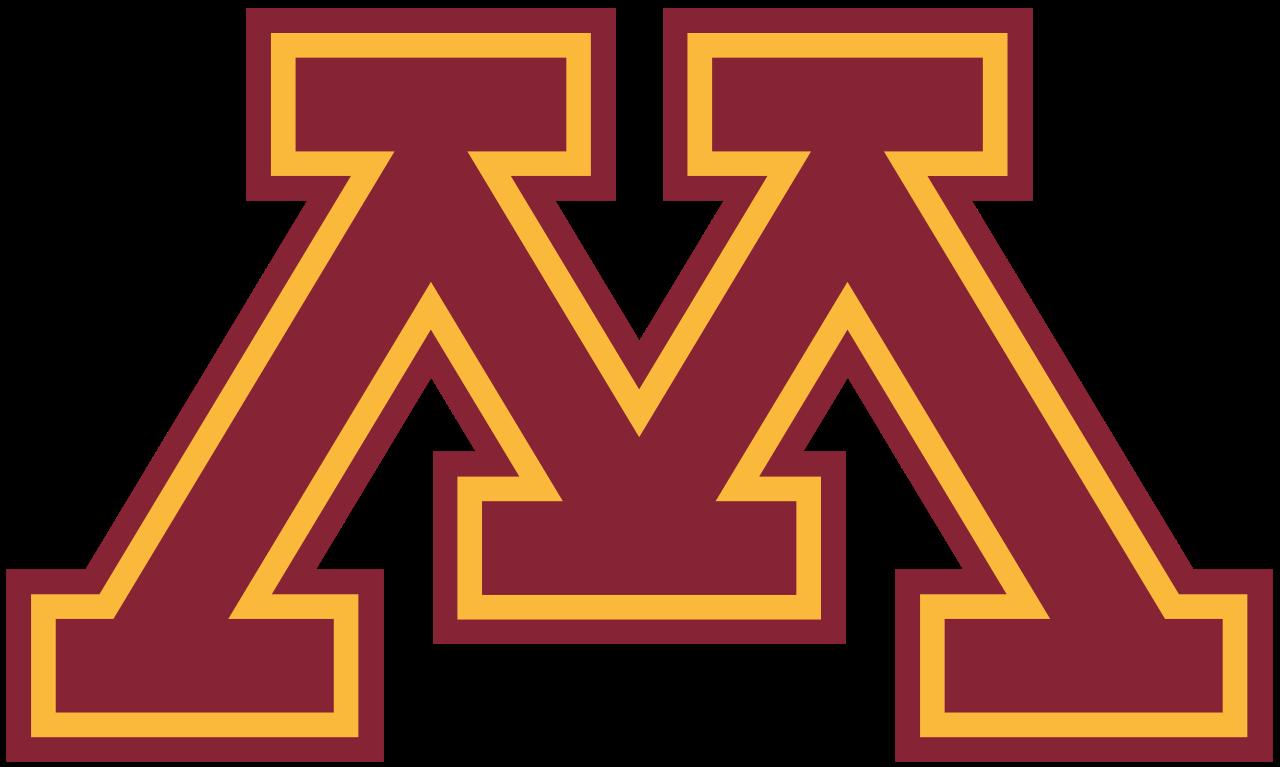 Minnesota Golden Gophers Logo Big Ten Conference Minnesota Golden Gophers University Of Minnesota College Logo