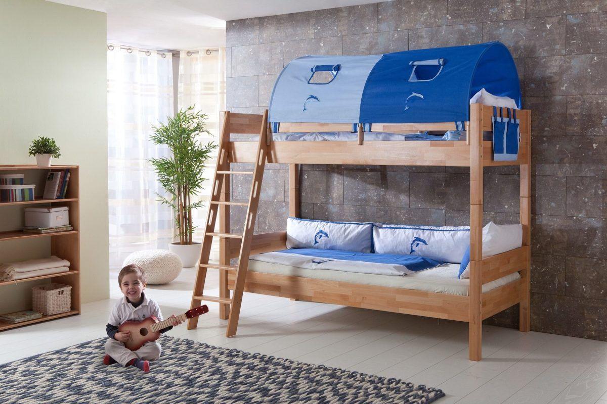 Etagenbett Jan Relita : Einzel etagenbett blau ausführung relita fsc zertifiziert