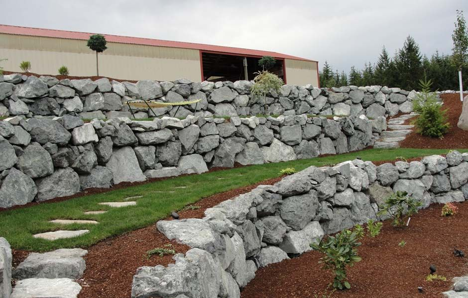 Like The Terraces Landscaping With Rocks Landscaping Retaining Walls Backyard Landscaping