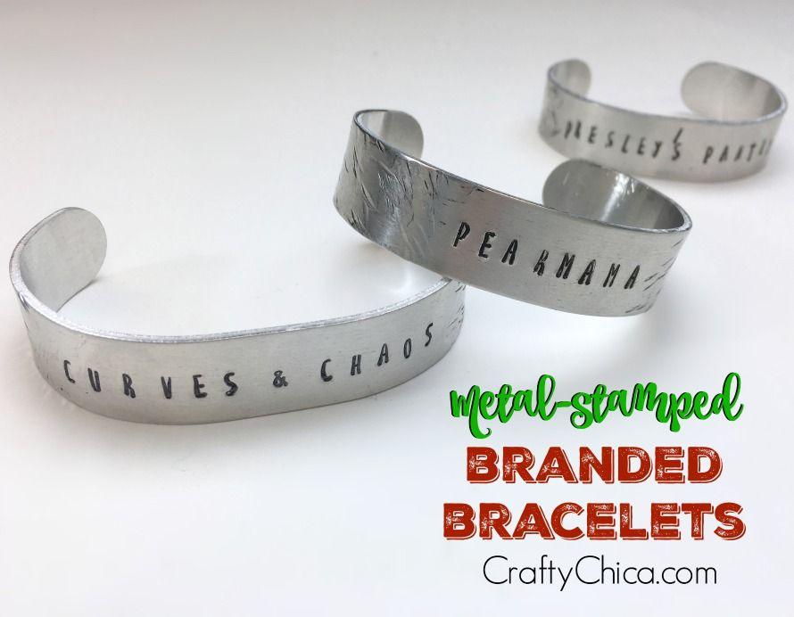 Metal Stamped Bracelets as Promo Items!