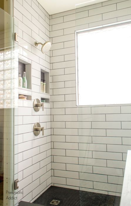 DIY Modern Master Bath Remodel: Part 3: Custom Tile Shower Install