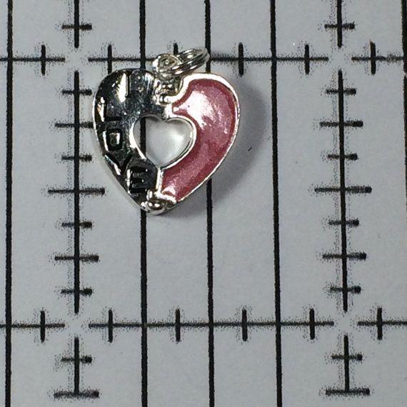 Sterling Silver 925 Vintage Bracelet Charm I by AntiqueAlligator