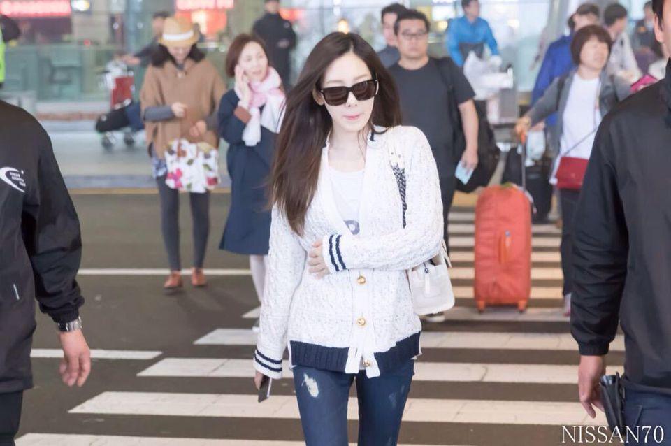#Taeyeon 태연 Incheon Airport
