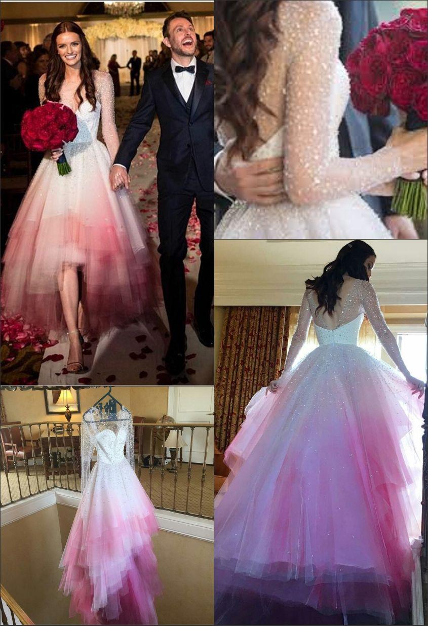 Pastel Wedding Inspiration By Lauren Pretorius Pink Wedding Dresses Pastel Wedding Dresses Dip Dye Wedding Dress