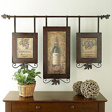 Wine Collage Iii Wall Art Jcpenney Wall Collage Decor Tuscan Decorating Wine Wall Decor