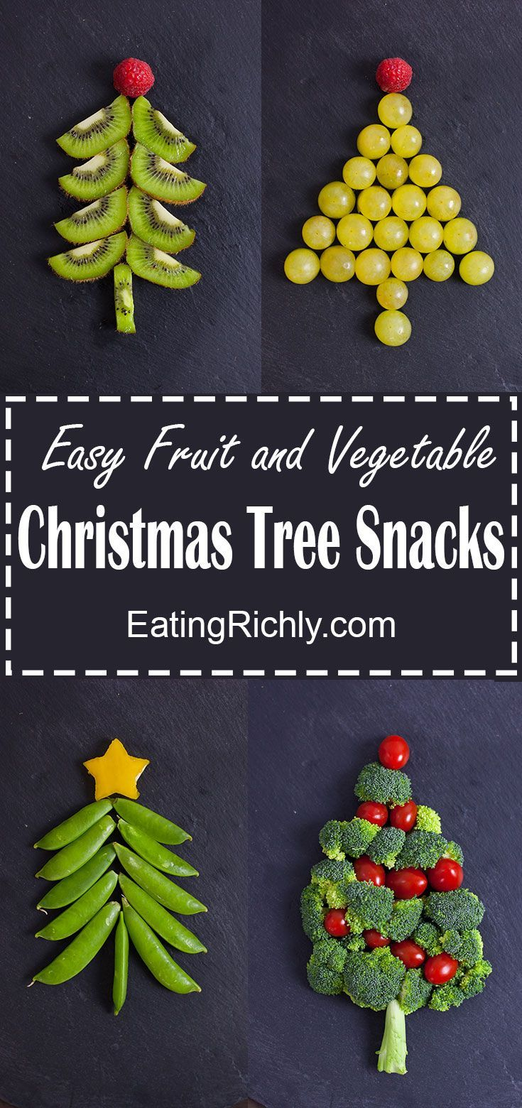 These easy Christmas snacks look like cute little Christmas trees ...