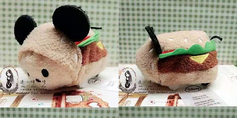 Preview: Hamburger Mickey Tsum Tsum
