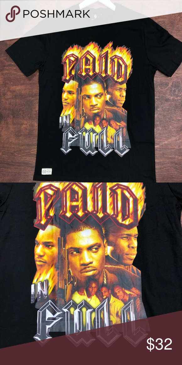 Paid In Full T Shirt Sz Large Paid In Full T Shirt Sz Large Shirts Tees Short Sleeve Large Shirts Mens Tshirts Shirts