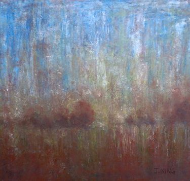 """Saatchi Art Artist Jenny King; Painting, """"Muted Reflections"""" #art"""