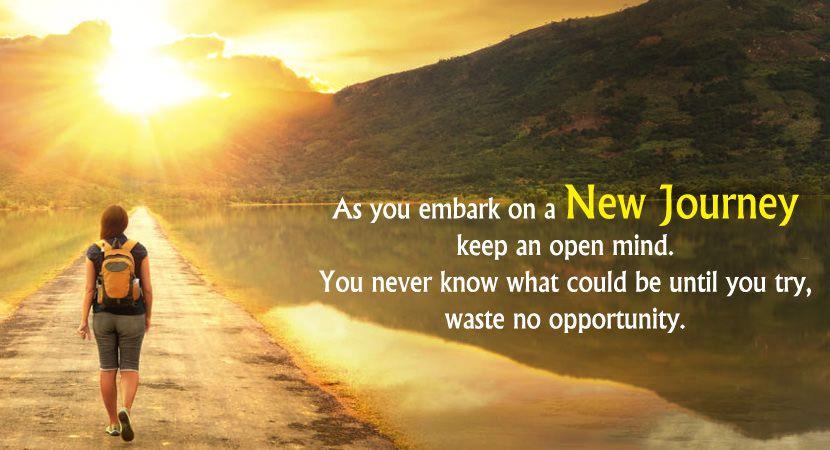 New Journey Quotes | Life journey quotes, New journey quotes ...
