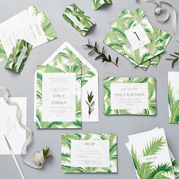 wedding stationery collections lucy says i do luscious tropical