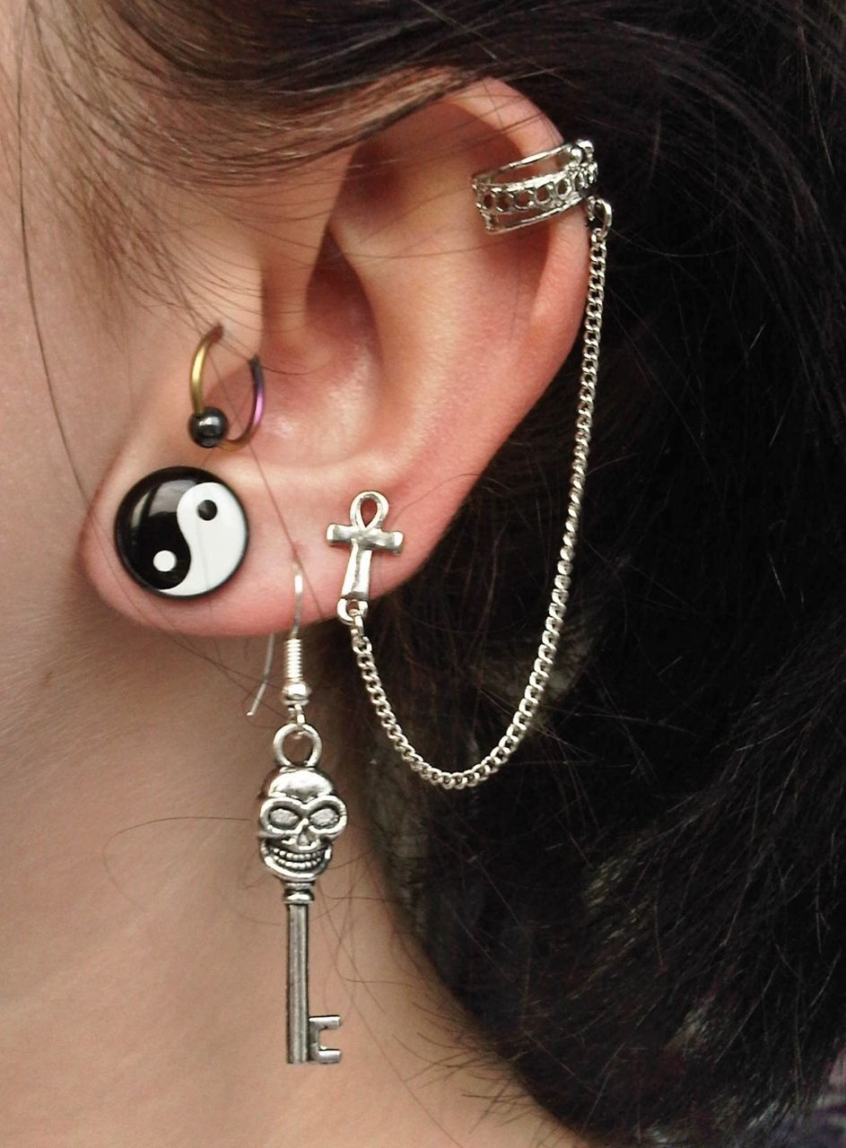 Piercing ideas body  ugh love this makes me want to get a third lobe piercing
