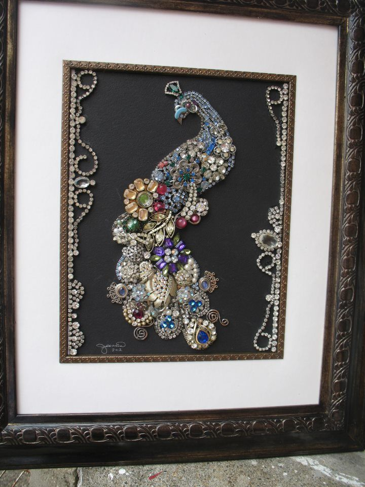 This Was My First Creation Repurposed Pinterest Jewelry Art