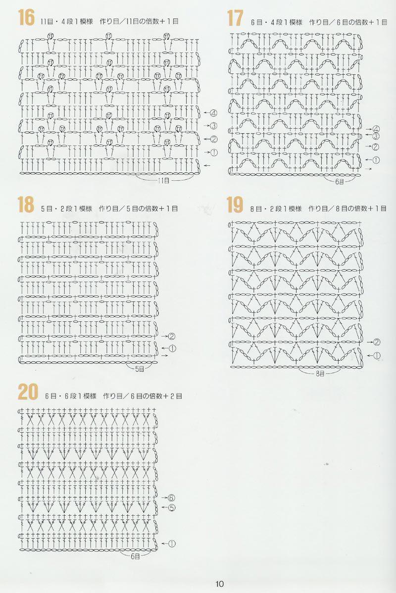 Todo crochet | Tejido a crochet | Pinterest | Croché, Ganchillo y Puntos