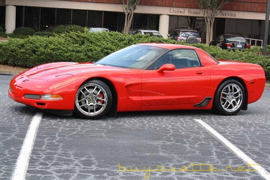 2004 Torch Red Corvette Z06 876 Units Corvette Z06 Corvette