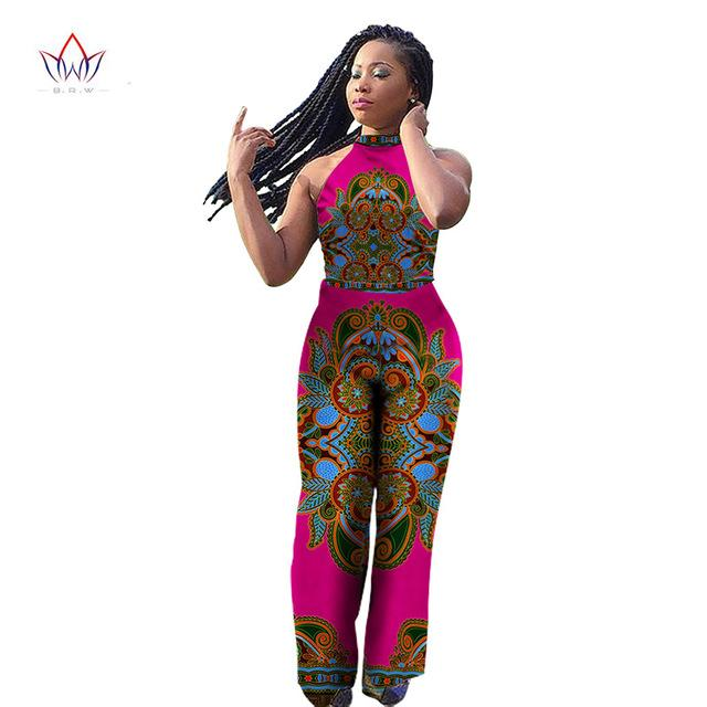 671a3b35b17e9 Dashiki African Print Sleeveless Long Pants Jumpsuits in 2019 | Shop ...