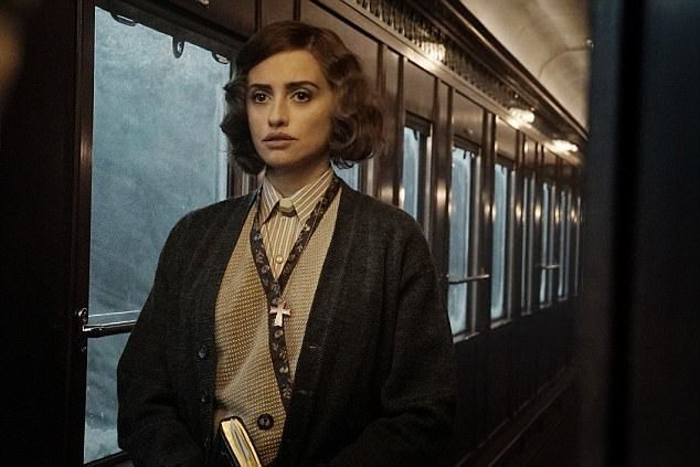 Image result for penelope cruz murder on the orient express