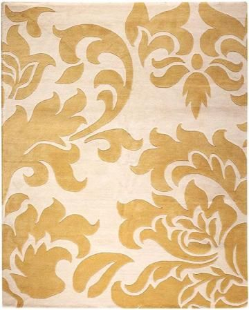 Home Decorators Collection Damask Rugyellow