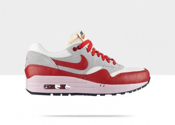 Nike Air Max 1 Vntg Wmns Sail Hyper Red Available Now Nike Air Max Nike Shoes Women Nike Shoes Outlet