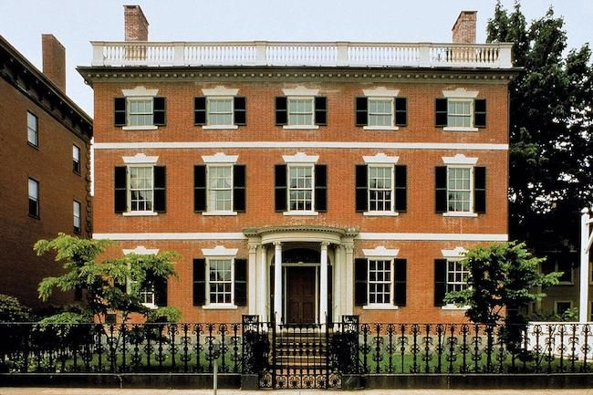 The Federal House Federal Architecture Federal Style House Neoclassical Architecture