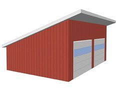 Image Result For Single Pitch Garage Roof Styles Shed Roof Roof Design