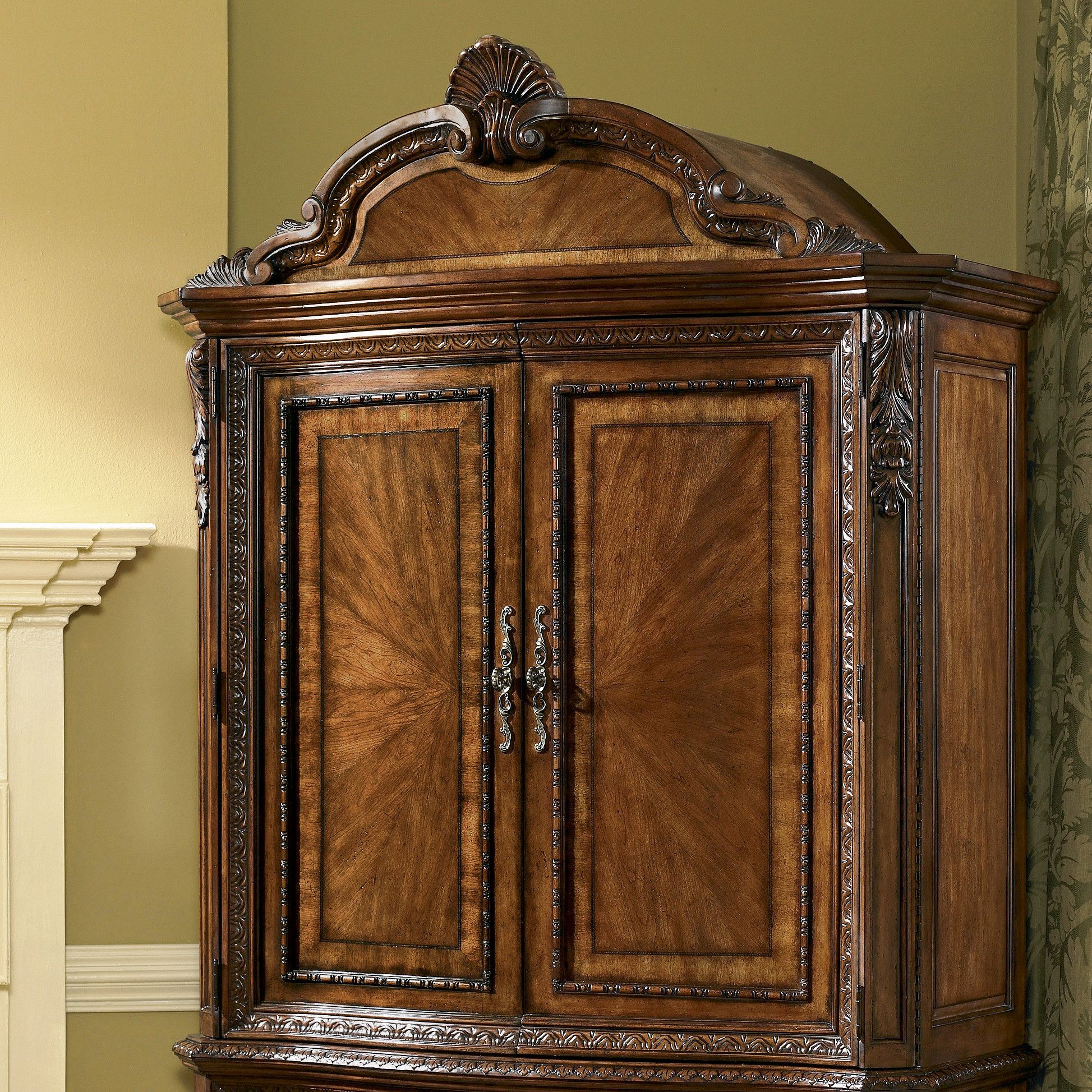 Old World Armoire Top