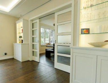 schiebet ren klassisch aber geradlinig k chent r in 2018 pinterest t ren haus und wohnzimmer. Black Bedroom Furniture Sets. Home Design Ideas