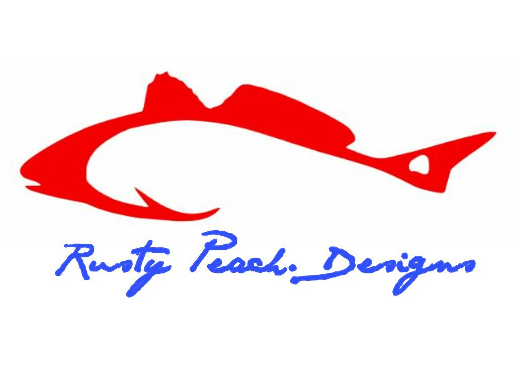 RedFish Hook Vinyl Decal, Your Choice of Color, Redfish Yeti, Red ...