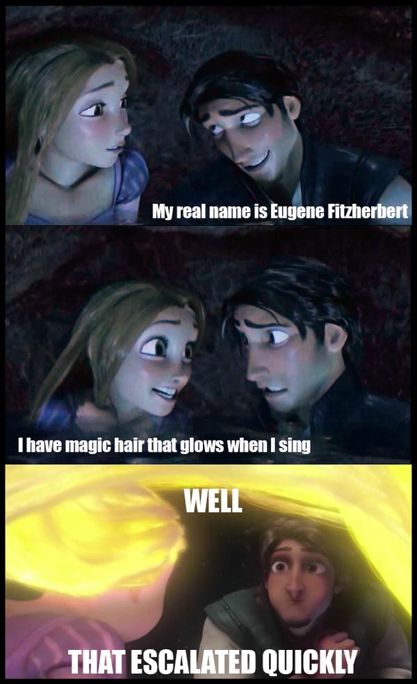 Tangled Meme by CatherineElias on DeviantArt