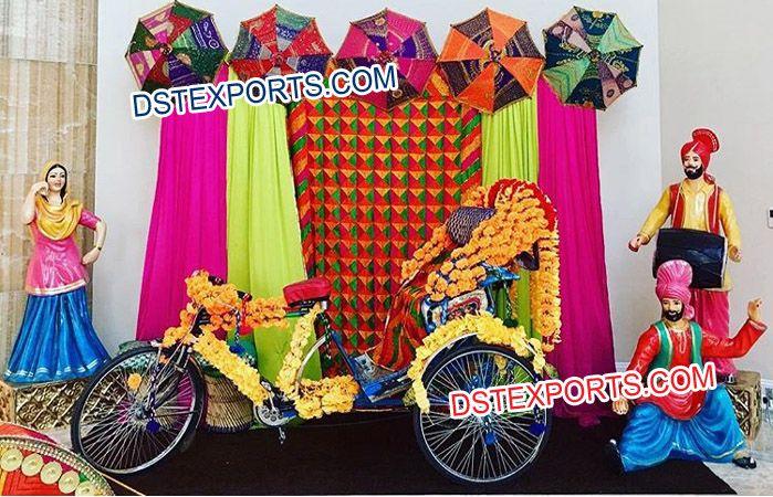 Punjabi Wedding Jago Mehndi Night Decorations Dstexports